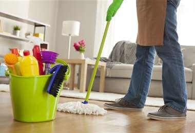 La ayuda de todos permite mantener el orden en el hogar