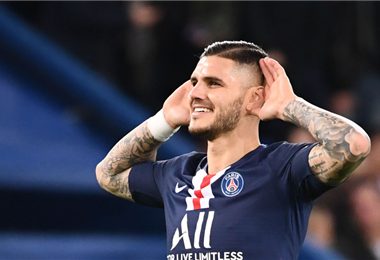 Mauro Icardi no se mueve de Francia