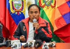 Milton Navarro, ministro de Deportes.