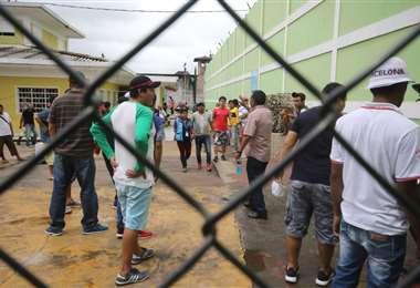 Penal de Palmasola en Santa Cruz (Foto: JORGE GUTIÉRREZ)