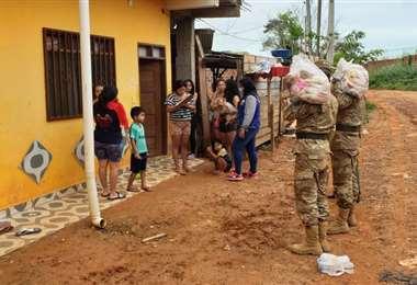 Los pacientes recuperados deben pasar 21 días de aislamiento en sus casas. Foto: Gobernación de Pando