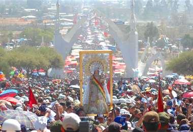 La festividad religiosa congrega a miles de visitantes. Foto: Destinos