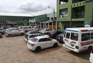 En las oficinas de Tránsito están los motorizados retenidos