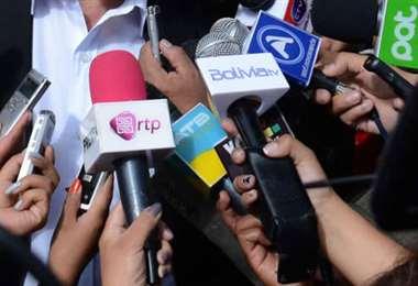 Medios de comunicación I Foto: archivo.