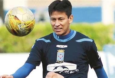Joselito Vaca es uno de los capitanes del equipo celeste. Foto: El Deber
