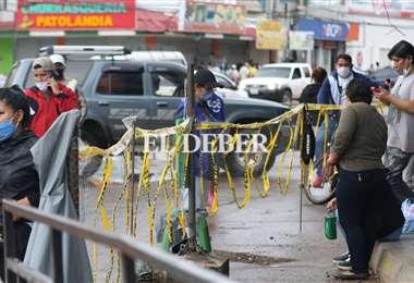 Hay vallas para conducir a los clientes a la entrada y a la salida/Foto: Ricardo Montero