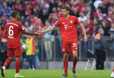 El Bayern de Múnich lidera el campeonato alemán de primera división. Foto: Internet