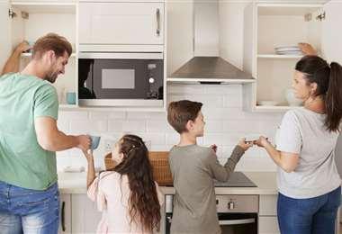 Todos debemos implicarnos en las tareas de casa
