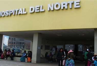 El hospital del Norte de El Alto I Foto: archivo.