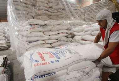 El azúcar fue uno de los productos que más exportó Bolivia en el primer trimestre /Foto: Jorge Uechi