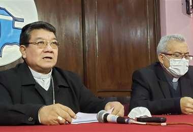 Representantes de la Iglesia en Bolivia
