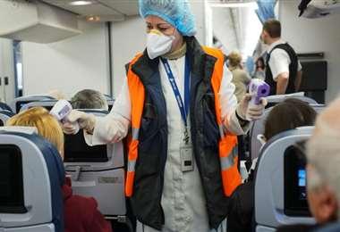 Las medidas de seguridad serán rigurosas en los vuelos