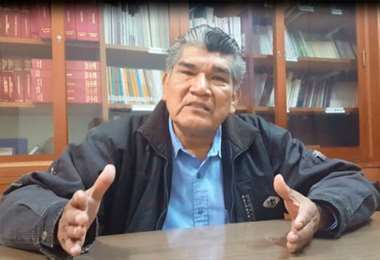 Fabricano, originario de San Lorenzo de Moxos, tiene 77 años
