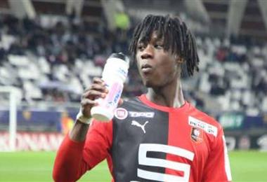 Camavinga debutó hace un año en el Rennes