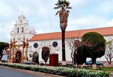 Hospital Santa Bárbara de Sucre.Foto de archivo