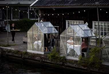 Un nuevo concepto en restaurantes. Foto AFP
