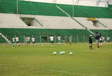 En estadio Tahuichi no se utiliza para el fútbol profesional desde el 11 de marzo. Foto: internet