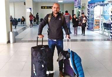 Sebastián Núñez volvió a Chile. Se desligó de Nacional Potosí,club que podría recontratarlo cuando se reanude la temporada. Foto: internet
