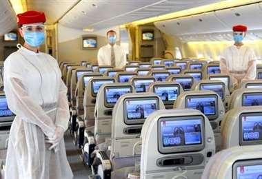 Las aerolíneas se alistan para volver a operar. Foto Internet