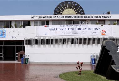 El Instituto de Salud Mental de Lima. Foto Internet