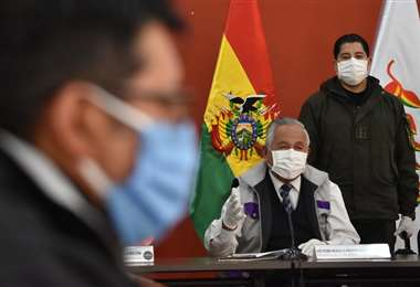 Ministro de Educación, Víctor Hugo Cárdenas I Foto: APG Noticias.
