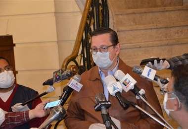 Óscar Ortiz, senador de UD I Foto: archivo.