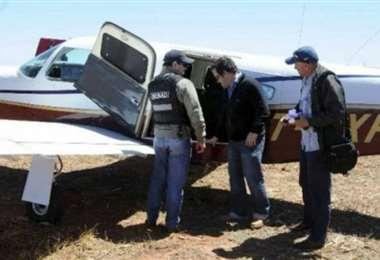 La aeronave cayó en Paraguay en mayo de 2019. Foto: Última Hora