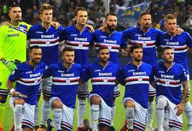 Sampdoria confirmó este jueves  que cuatro de sus jugadores dieron positivo en el test para detectar si están contagiados por el coronavirus.Foto: Internet