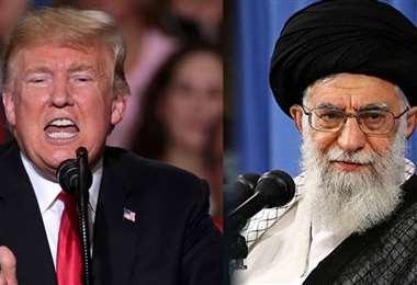 EEUU e Irán, dos enemigos declarados. Foto Internet