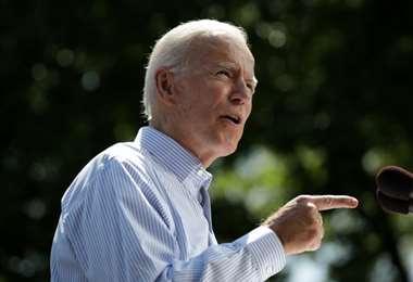 El candidato demócrata niega la acusación. Foto AFP