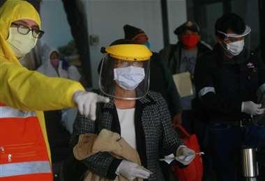 Suben los casos positivos de coronavirus en Santa Cruz. Foto Jorge Gutiérrez