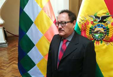 Ministro de Minería, Fernando Vásquez