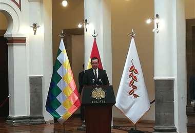 Oscar Ortiz, asume el ministerio de Desarrollo Productivo, en reemplazo de Wilfredo Rojo que estuvo casi cinco meses en el cargo/Foto: Miguel Angel Melendres
