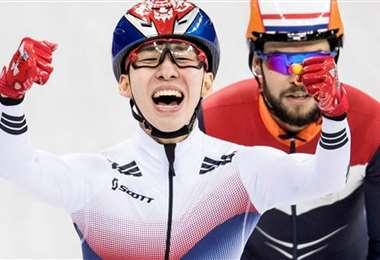 El surcoreano Lim Hyo-jun celebra uno de sus triunfos. Foto: internet