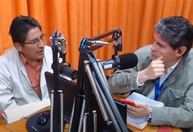 Patzi en entrevista con Arandia I captura