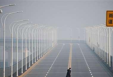 La contaminación regresa a las ciudades de China. Foto Internet