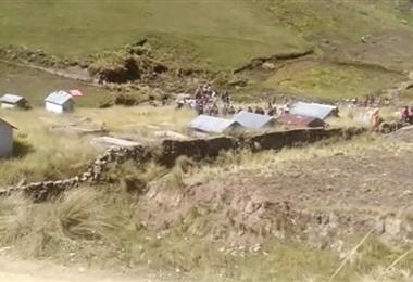 Challviri es una comunidad de Palca, en Sacaba, Cochabamba. Foto: Opinión