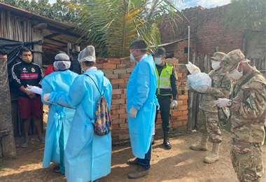67 brigadas están recorriendo las casas de Trinidad. Foto: GAB