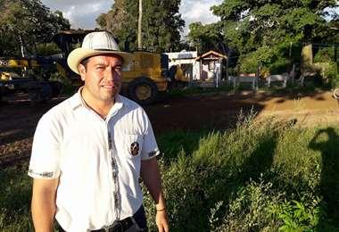 Borja continúa trabajando desde su domicilio. Foto Juan Carlos Fernández