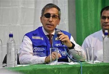 Alfonso Tenorio, representante de la OPS I archivo.