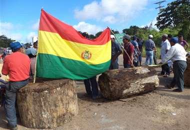Alcaldes bloquearán este martes en Santa Cruz. Foto Archivo