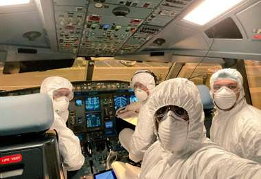 El uso de barbijos será obligatorio en el transporte aéreo de pasajeros
