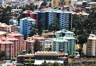 El accidente se produjo en el barrio Los Pinos de La Paz