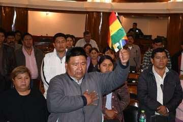El presidente de Diputados sigue la línea marcada por el jefe de su partido. Archivo