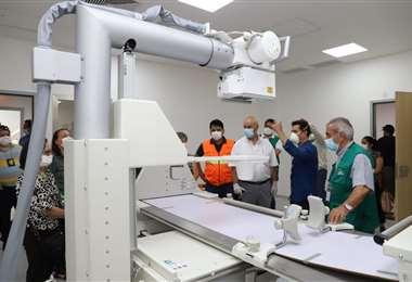 Equipos con los que cuenta el nuevo hospital de Montero