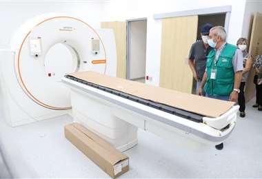 El hospital cuenta con equipos modernos /Foto: Gobernación