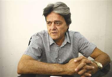 José Ernesto Álvarez presidió Oriente Petrolero durante cuatro años. Foto: El Deber