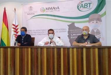 La ABT y Anapo acordaron frenar la desforestación y chaqueos