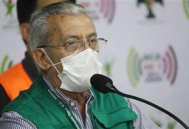 Desde la gobernación confirmaron el contagio de Urenda. Foto Ricardo Montero