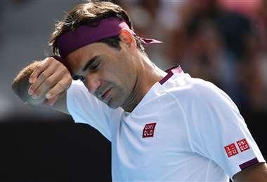 Roger Federer había sido operado de la misma rodilla en febrero de este año. Foto: Internet